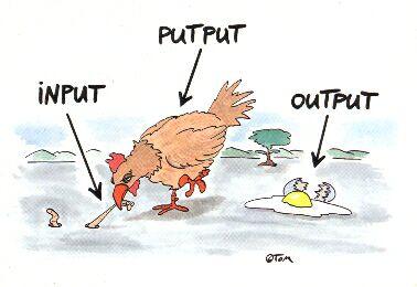 input putput output
