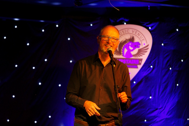 Neil O'Brien, Time To Fly, speaking at The White Horse on June 28th 2016. Photo: Donagh Glavin